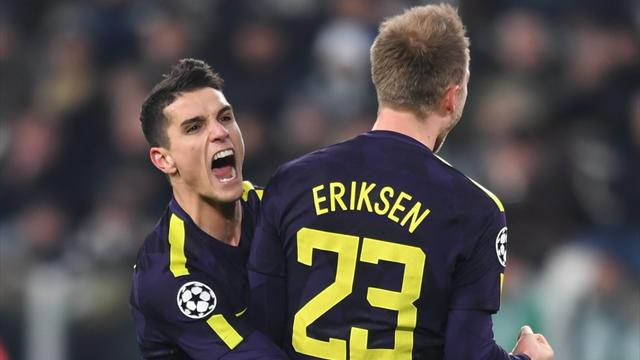 Spurs take control with impressive draw in Turin