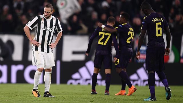 Juventus- Tottenham: il pareggio 1-1 vale 3,55 in lavagna Intralot