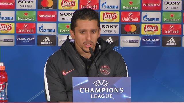 "Marquinhos : ""J'ai beaucoup d'admiration pour Thiago Silva"""