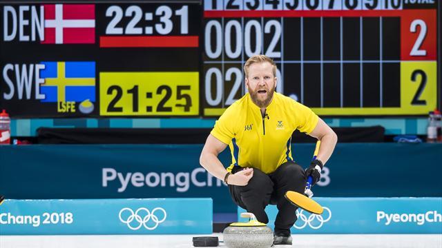 Svenska guldhoppen inledde med stabil seger