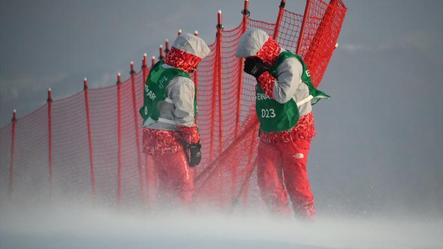 Le vent reporte le slalom dames à vendredi...
