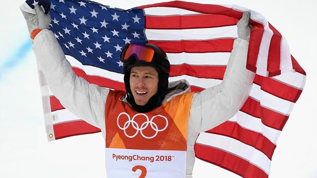 Shaun White domine les qualifications du halfpipe