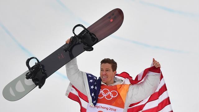 Snowboard efsanesi Shaun White'tan mucizevi altın