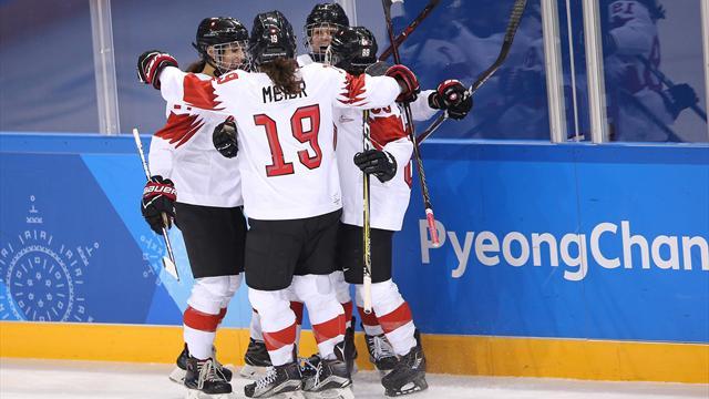 Schweizer Eishockey-Spielerinnen holen Gruppensieg