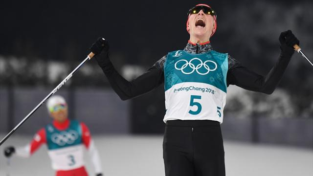Frenzel defends Nordic combined gold