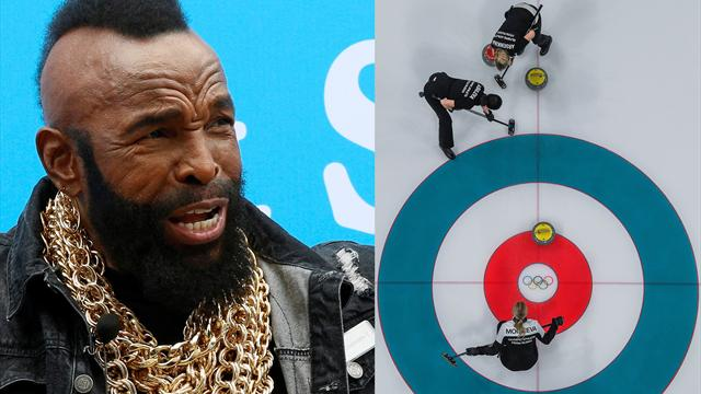 Curling is cool, fool: Mr T can't stop tweeting about the Olympic sport