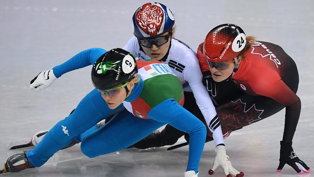 Кореянка Минджон Чхой взяла золото в шорт-треке на дистанции 1500 м