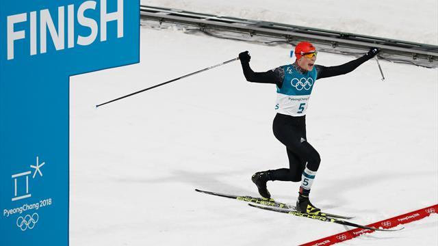 Frenzel erneut Olympiasieger in der Nordischen Kombination