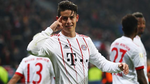 Hold-up sur le Bayern pour «El bandido» James