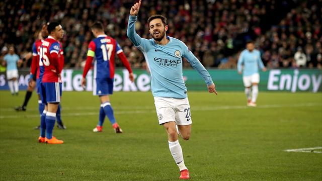 Bernardo Silva plays down Manchester City's favourites tag