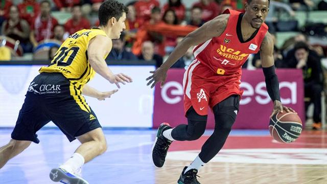 Iberostar Tenerife y UCAM Murica se enfrentarán en octavos de final