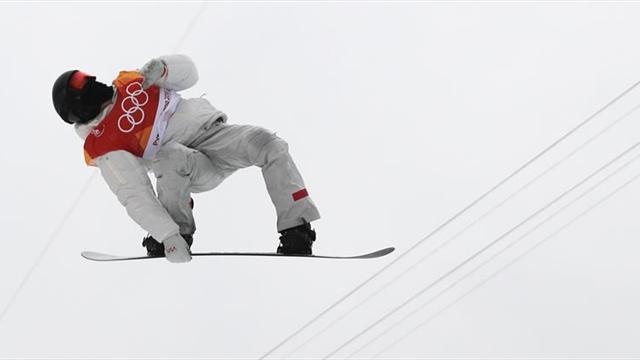 El 'tomate volador' agranda su mito con un tercer oro olímpico en 'halfpipe'