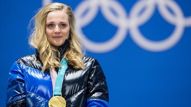 När silver-Stina blev guld-Stina!