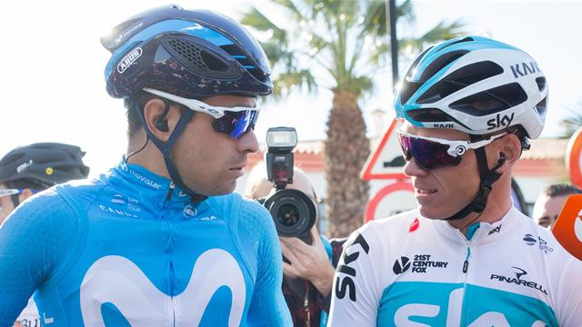 Vuelta Andalucía 2018: Froome regresa con un divertido fotofinish