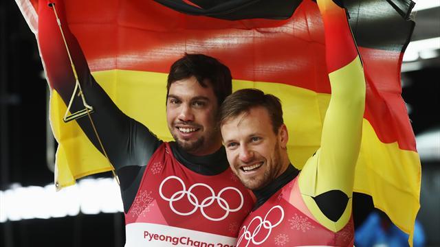 L'Allemagne s'offre une septième médaille d'or grâce à Wendl et Arlt