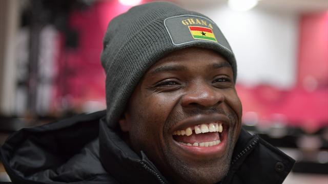 Deltar i OL for første gang – nå vil han skape vintersportbølge i Ghana