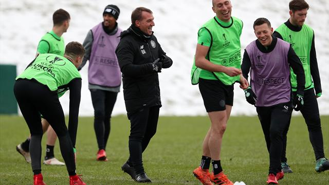 Brendan Rodgers: Celtic underdogs against Zenit St Petersburg