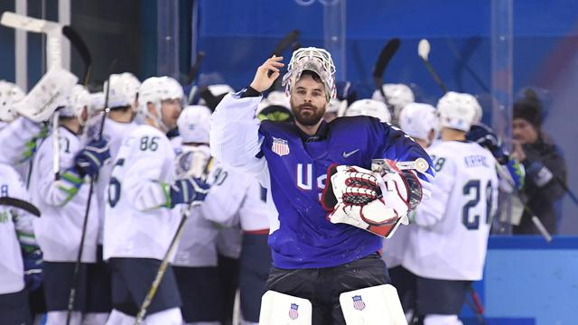Double shock as Russians and USA suffer opening ice hockey defeats