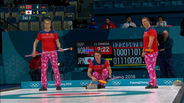 Норвежские керлингисты вышли на матч в экипировке, которая больше подошла бы девочкам