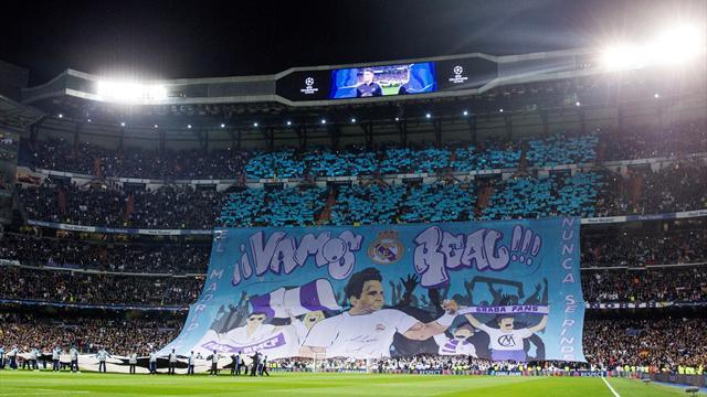 La imagen de Rafa Nadal alentó al Madrid con un impresionante mosaico antes del duelo ante el PSG