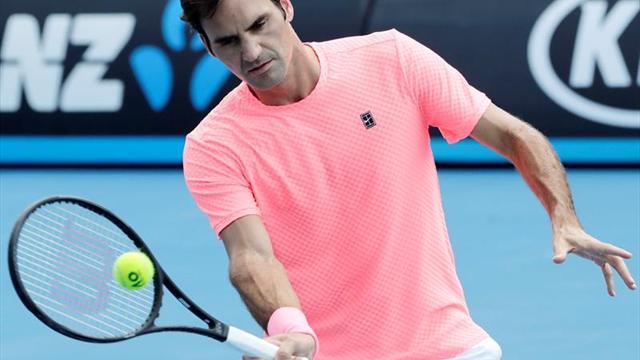 Federer barre en 47 minutos a Bemelmans