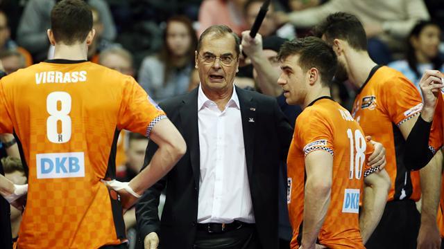 BR Volleys unterliegen bei Moculescu-Einstand