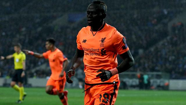 Sadio Mane scores hat-trick as Liverpool cruise to Champions League win in Porto