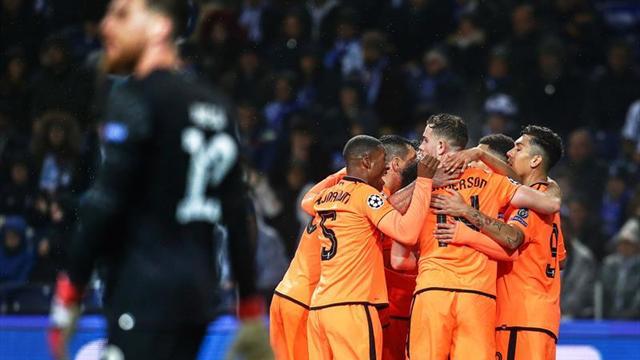 0-5. El Liverpool aplasta al Oporto y pone rumbo a cuartos