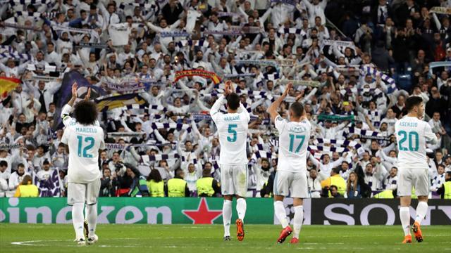 Champions League (octavos, ida), R. Madrid-PSG: ¡Cómo no les van a querer! (3-1)