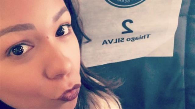 La femme de Thiago Silva se lâche sur Instagram