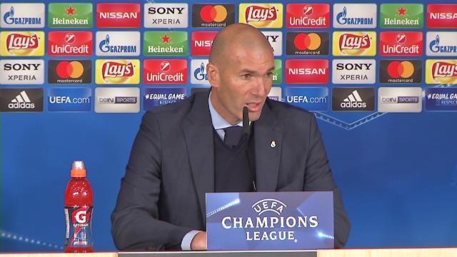 """Zidane : """"Ronaldo toujours présent dans les grands rendez-vous"""""""