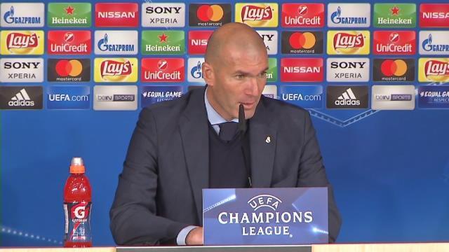 """Zidane : """"Il faut être heureux"""""""