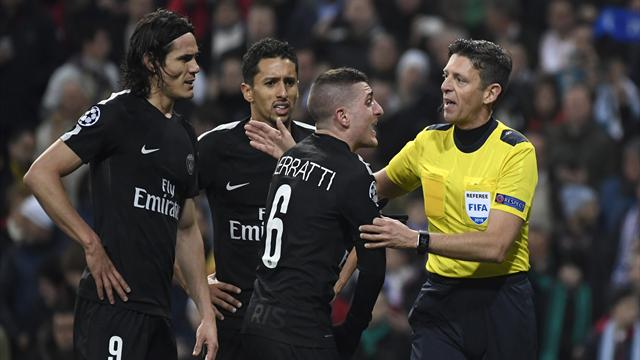 """Al-Khelaifi : """"Ça suffit cet arbitrage, l'UEFA doit faire quelque chose"""""""
