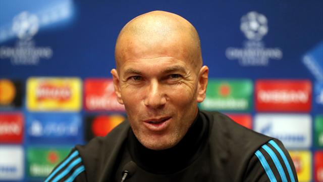 Zinedine Zidane praises Real Madrid following Champions League victory over PSG
