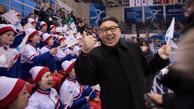 Kim Jong-un-Doppelgänger aus Stadion geworfen