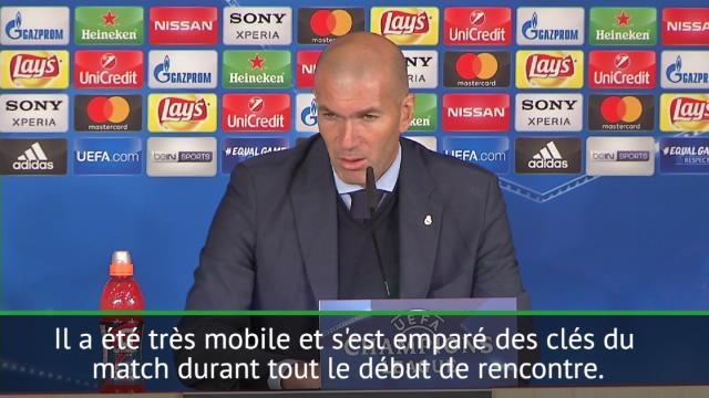 La leçon tactique de Zidane