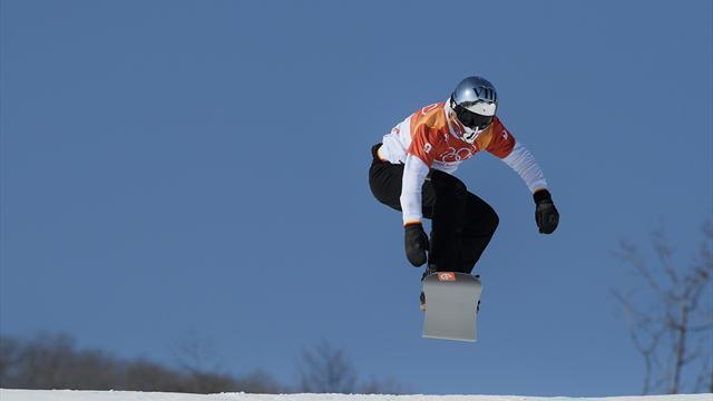 Regino Hernández logra un bronce histórico para España en Snowboard Cross