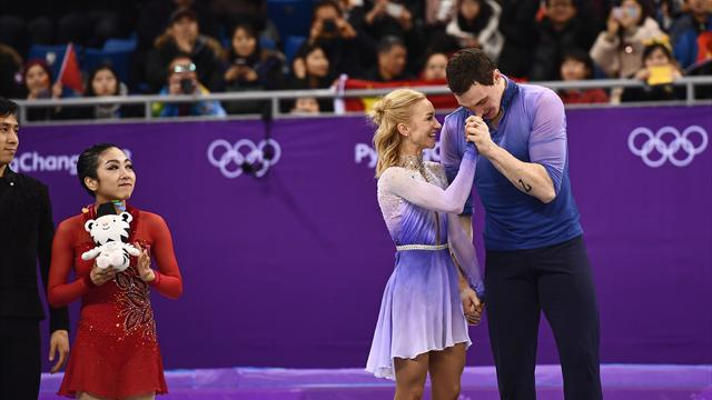 Савченко и Массо установили мировой рекорд в произвольной программе, Тарасова и Морозов – четвертые