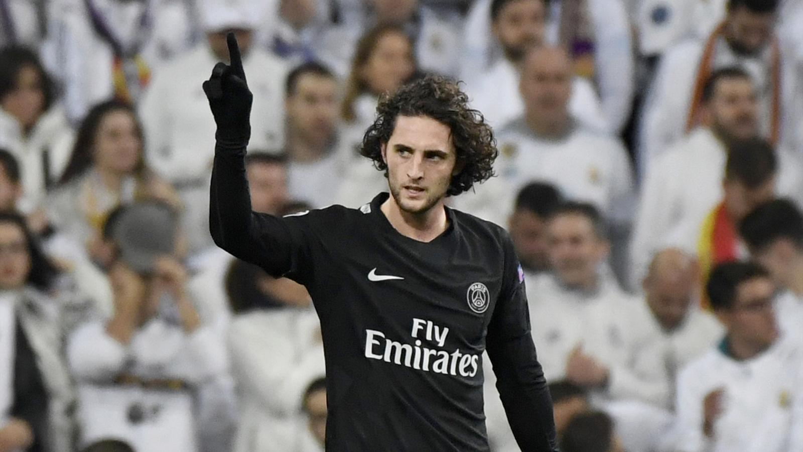 l 39 adieu apr s le refus adrien rabiot songerait s rieusement quitter le psg transferts 2017. Black Bedroom Furniture Sets. Home Design Ideas
