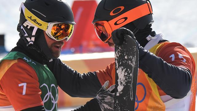 Snowboardcross: Nörl nach Sturz Achter - Vaultier holt erneut Gold