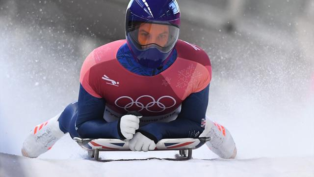 Team GB's Dom Parsons in Winter Olympics medal contention in skeleton