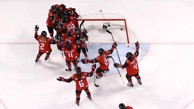 23. Sieg in Serie: Kanadas Eishockey-Frauen schlagen auch die USA