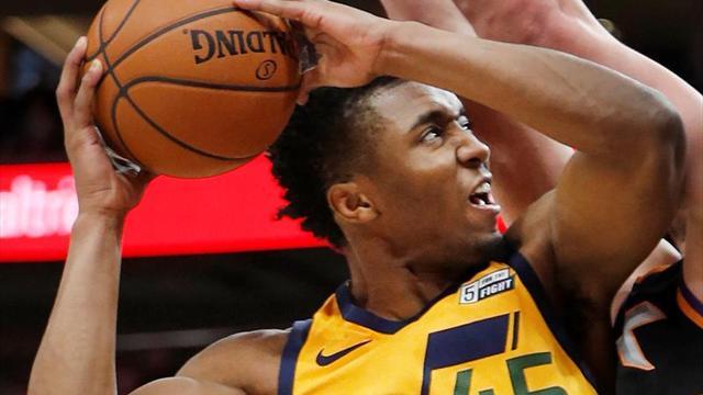 107-97. Mitchell y Jazz llegan a 11 triunfos seguidos, mejor racha de la NBA