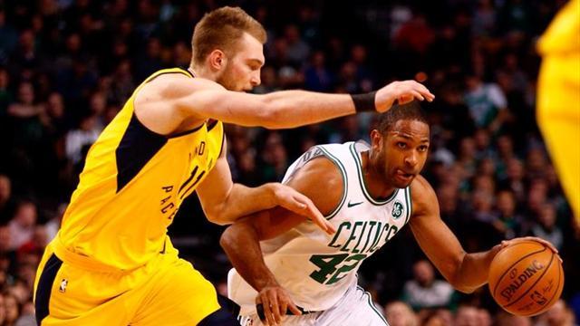 La buena labor de Al Horford no impide la derrota de los Celtics