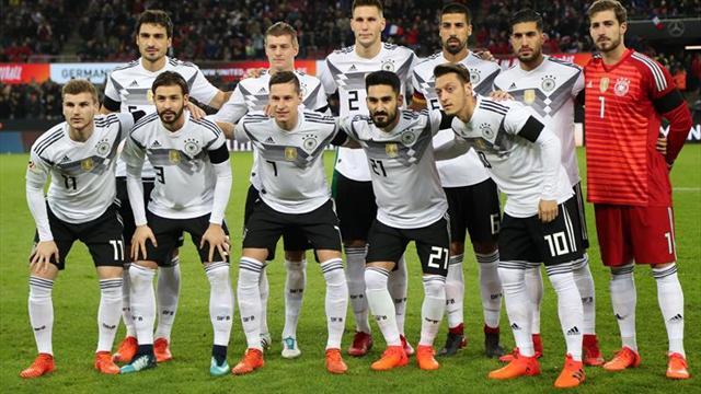 Alemania encabeza la clasificación e Islandia continúa ascendiendo