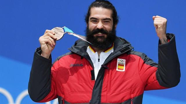 Regino Hernández hace historia al ganar el bronce en los Juegos de PyeongChang