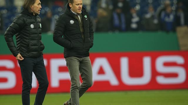 Vor Bayern-Spiel: Rebbe stützt Wolfsburg-Coach Schmidt