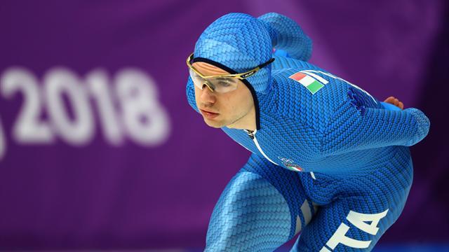 Nicola Tumolero favoloso! Bronzo a sorpresa nei 10000 m di velocità