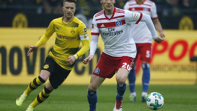 HSV wohl ohne Ekdal gegen Leverkusen