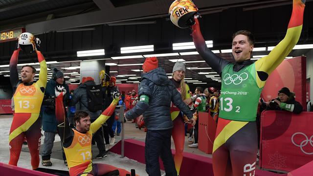Teamstaffel: Drittes Rodel-Gold für Deutschland